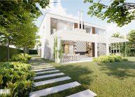 Projekt rodinného domu v Liberci-Karlinkách od architekta Radomíra Grafka – vizualizace (3).