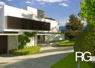 Studie rodinného domu v Liberci-Ruprechticích od architekta Radomíra Grafka z architektonického studia RG architects studio. Exteriér (2)