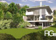 Studie rodinného domu v Liberci-Ruprechticích od architekta Radomíra Grafka z architektonického studia RG architects studio. Exteriér (3)