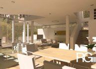 Studie rodinného domu v Liberci-Ruprechticích od architekta Radomíra Grafka z architektonického studia RG architects studio. Interiér