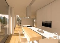 Studie rodinného domu v Liberci-Ruprechticích od architekta Radomíra Grafka z architektonického studia RG architects studio. Interiér (4)