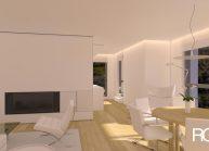 Studie interiéru bytu ve vila domu v Liberci od architekta Radomíra Grafka (2)