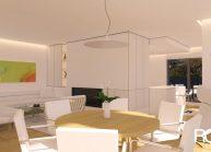Studie interiéru bytu ve vila domu v Liberci od architekta Radomíra Grafka (3)